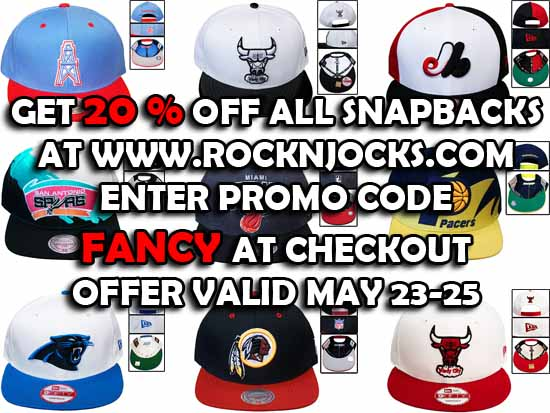 Rock-N-Jocks 20% Off All Snapbacks