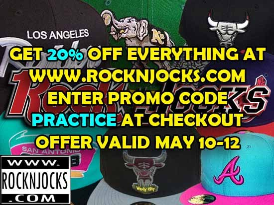 RockNJocks 20% Off Everything Sale