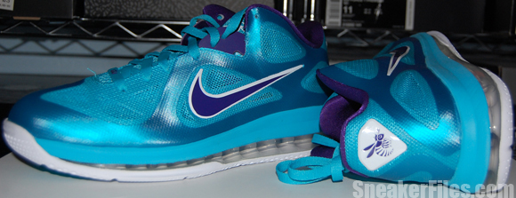 Video: Nike LeBron 9 Low Summit Lake Hornets