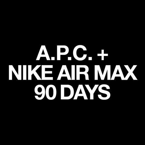 A.P.C. x Nike Air Max