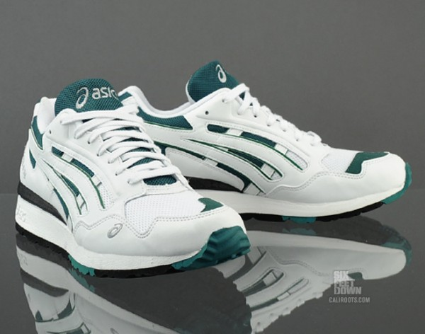 Asics Green And White