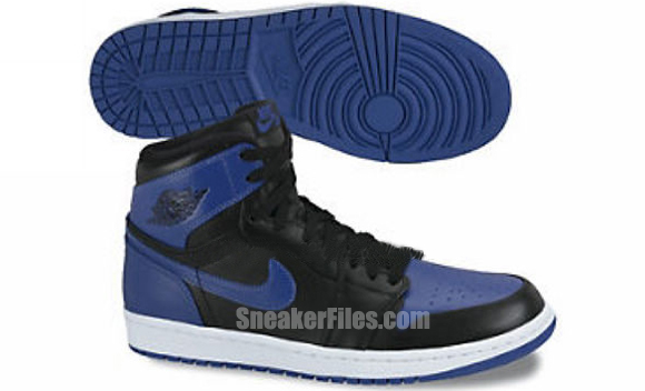 Air Jordan 1 High 'Black/Blue' - 2013