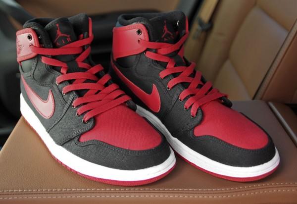 Air Jordan 1 Retro KO Hi 'Black/Varsity Red-White' - Final Look