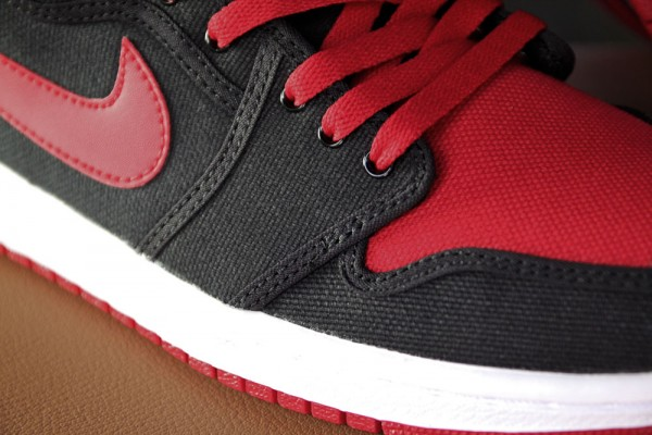 Air Jordan 1 Retro KO Hi 'Black/Varsity Red-White' - Final Look