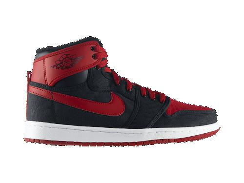 Air Jordan 1 Retro KO Hi 'Black/Varsity Red-White' - Now Available at NikeStore