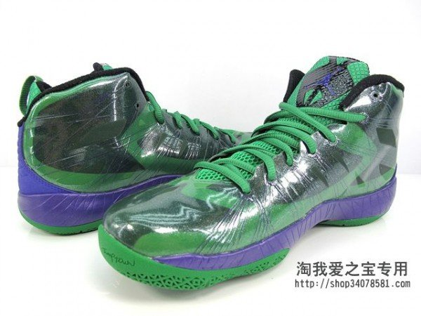 Air Jordan 2012 Lite 'Green/Black-Purple'
