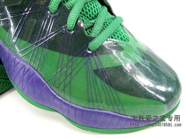 Air Jordan 2012 Lite 'Green/Black-Purple'