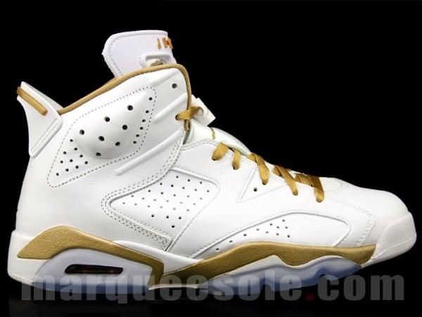 watch ad834 8e585 Air Jordan 6  Golden Moments Pack
