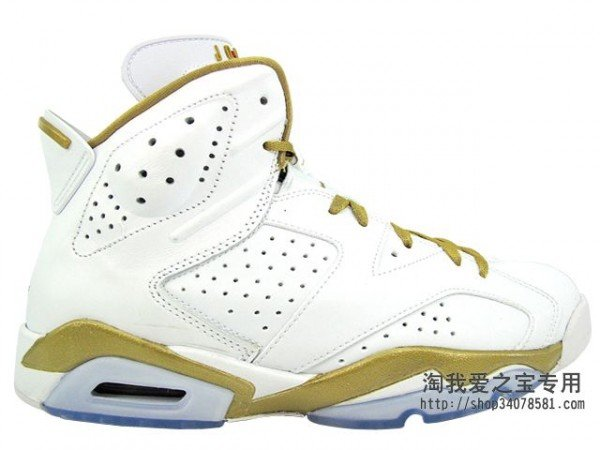 Air Jordan 6 'Golden Moments Pack' - Another Look