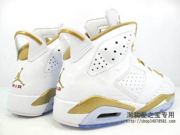 Air Jordan 6 'Golden Moments Pack' - Another Look