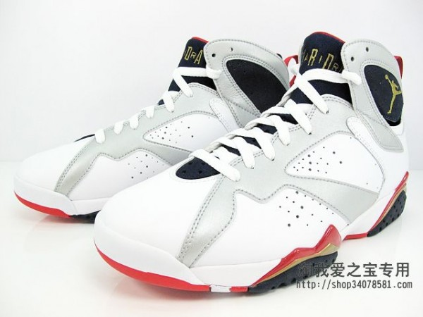 Air Jordan 7 'Olympic' - Another Look