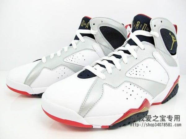 Air Jordan 7 'Olympic' - Another Look