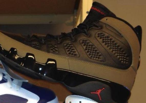 Air Jordan 9 'Olive' - New Image