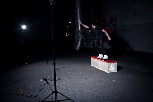 Behind-The-Scenes of the Nike Air Yeezy 2 Skate Test