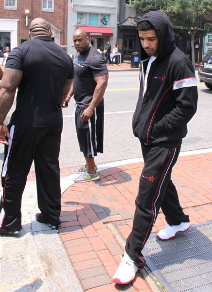 Drake Hits D.C. in the Air Jordan 11 Low