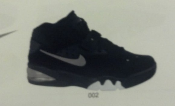 Fab 5 Nike Air Force Max 'Black/Metallic Silver' - Spring 2013