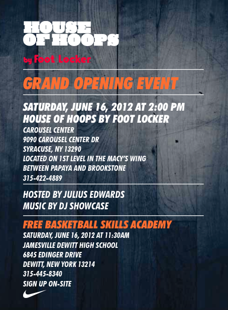 House of Hoops Grand Opening in Syracuse, NY