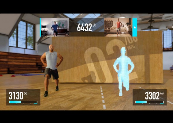 Introducing Nike+ Kinect Training