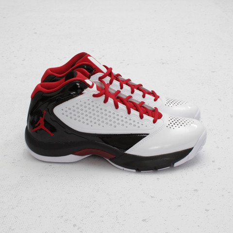 Jordan D'Reign 'White/Gym Red-Black'
