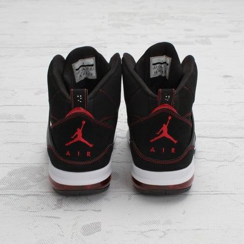 Jordan Flight 45 High Max 'Black/Gym Red-White'