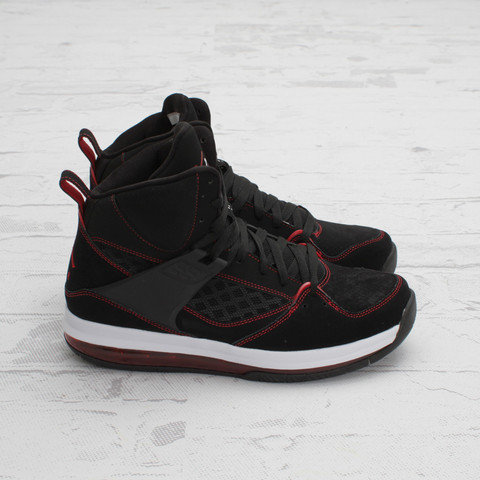 Jordan Flight 45 High Max 'Black/Gym Red-White'