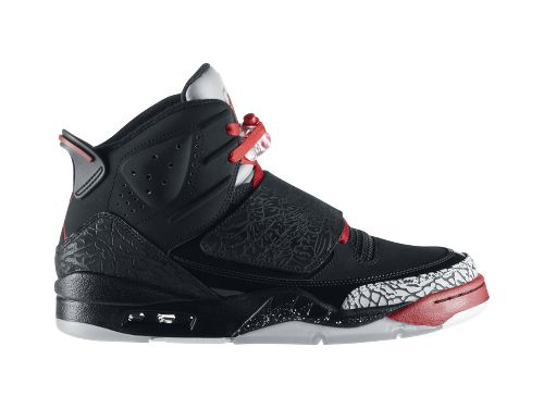 Jordan Son of Mars 'Black/Varsity Red-Cement Grey-White' - Now Available at NikeStore