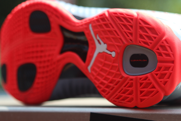 Jordan Super.Fly 'Stealth/White-Bright Crimson-Black' - Another Look