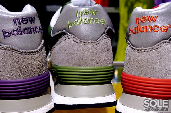 New Balance 574 Grey Suede Pack