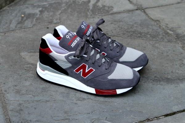 New Balance 998 'Grey/Red'