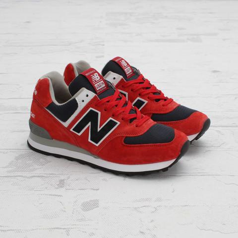 New Balance US574 'Red/Navy-White'