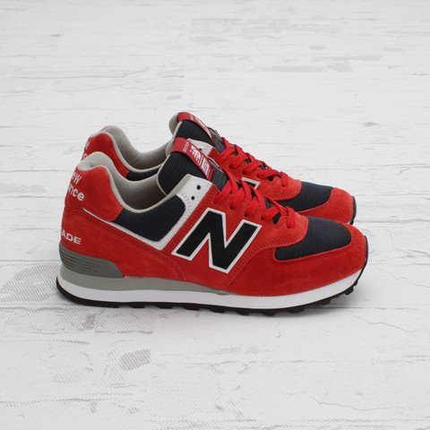New Balance US574 'Red/Navy-White'