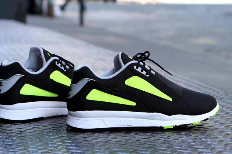 Nike Air Current 'Black/Wolf Grey-Volt-Black' at Kith NYC