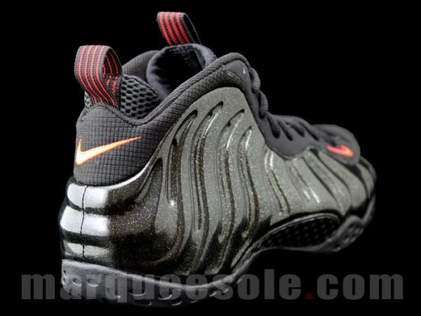 d9c71bbfeb8af Nike Air Foamposite One  Black Red-Metallic Gold  Sample