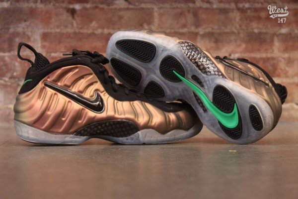 Nike Air Foamposite Pro 'Gym Green' at West NYC