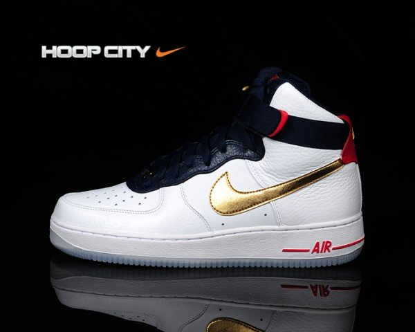 Nike Air Force 1 High 'Dream Team' - New Images