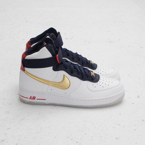 Nike Air Force 1 High Premium 'Dream Team' at Concepts