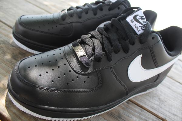 963422237080 Nike Air Force 1 Low  Black White-Black  at Social Status