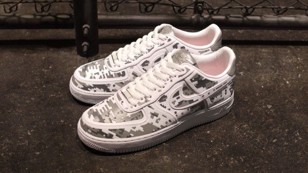 Nike Air Force 1 Low Premium High-Frequency Digital Camouflage - Another Look