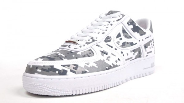 Nike Air Force 1 Low Premium High-Frequency Digital Camouflage - New Images