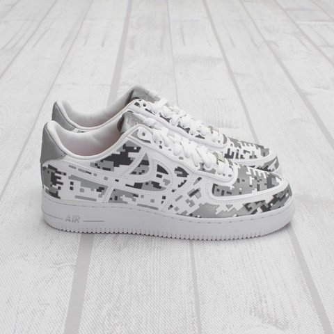 Nike Air Force 1 Low Premium High-Frequency Digital Camouflage at Concepts