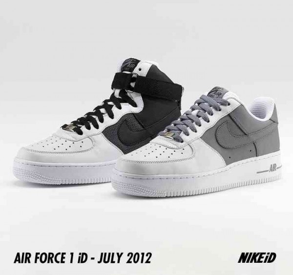 Release Reminder: Nike Air Force 1 iD Tactical Mesh and Tactical Grip Leather
