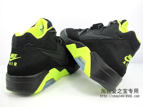 Nike Air Force 180 'Black/Volt' - Another Look