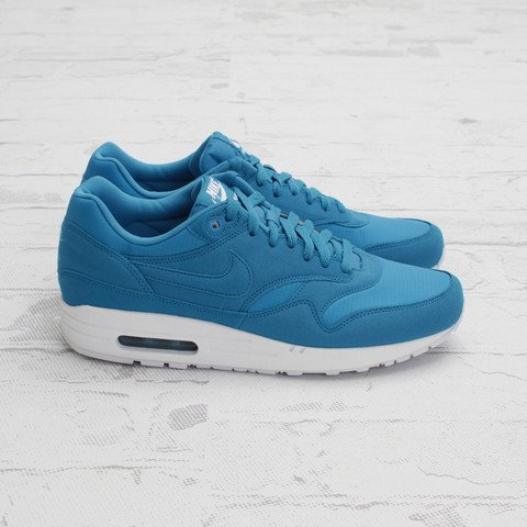 Nike Air Max 1 Neon Ripstop 'Dynamic Blue' at Concepts