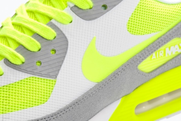 Nike Air Max 90 Hyperfuse Premium Suede 'Volt/Grey-White'