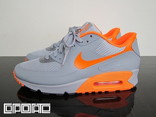 Nike Air Max 90 Hyperfuse 'Silver/Orange'