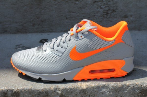 nike air max 90 hyperfuse grey orange