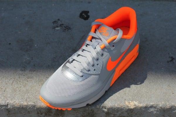 Nike Air Max 90 Hyperfuse 'Stealth/Total Orange'