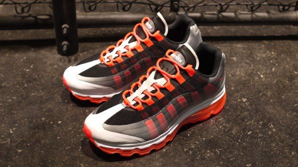 Nike Air Max 95+ BB 'Black/Bright Crimson-Dark Grey-Wolf Grey'