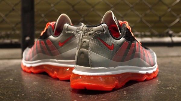 Nike Air Max 95+ BB 'Black/Bright Crimson-Dark Grey-Wolf Grey'