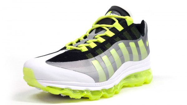 Nike Air Max 95+ BB 'Black/Volt-Dark Grey-Wolf Grey'